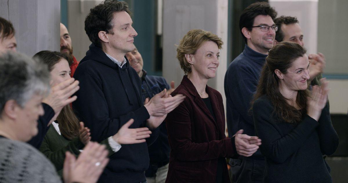 Mia madre: Margherita Buy e Pietro Ragusa in una scena del film