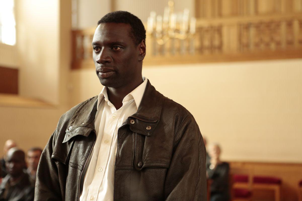 Samba: Omar Sy nel ruolo di Samba in un'immagine del film