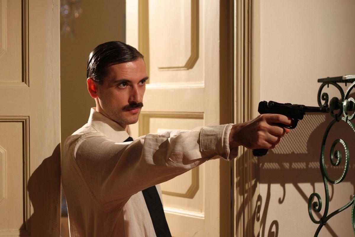 L'ospite: Michele Pagliai in una scena del film