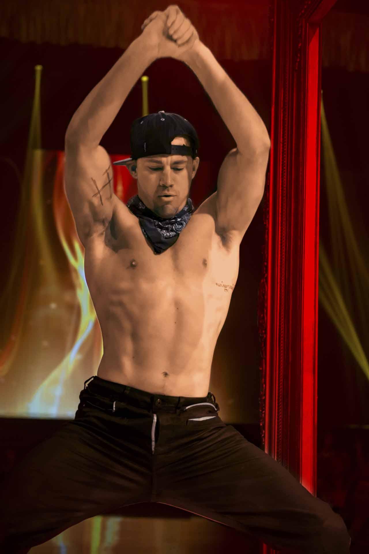 Magic Mike XXL: Channing Tatum in una scena del film
