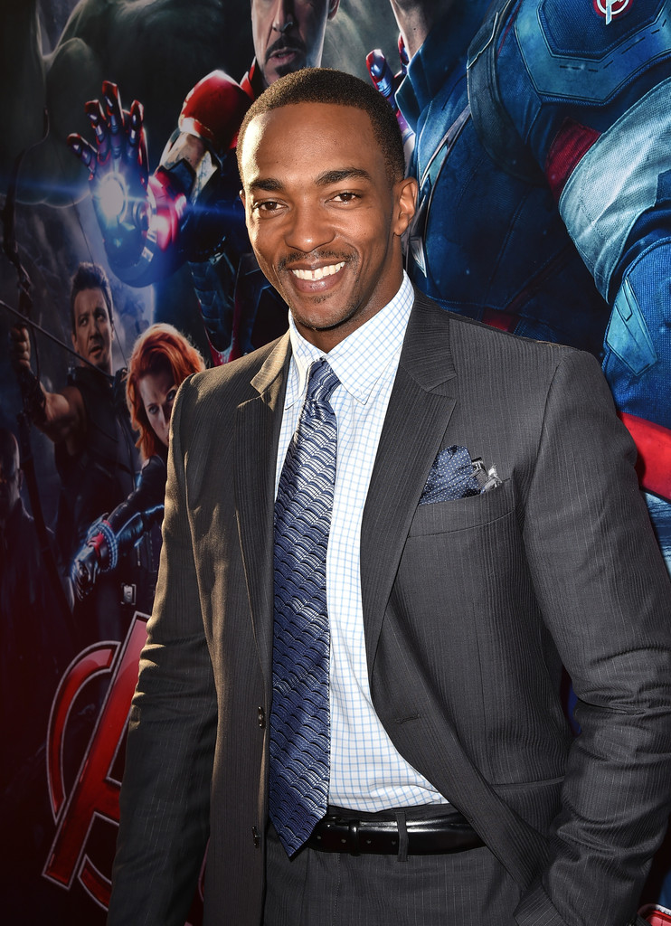 The Avengers: Age of Ultron - Anthony Mackie alla premiere