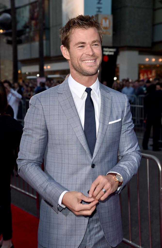 The Avengers: Age of Ultron - Chris Hemsworth alla premiere
