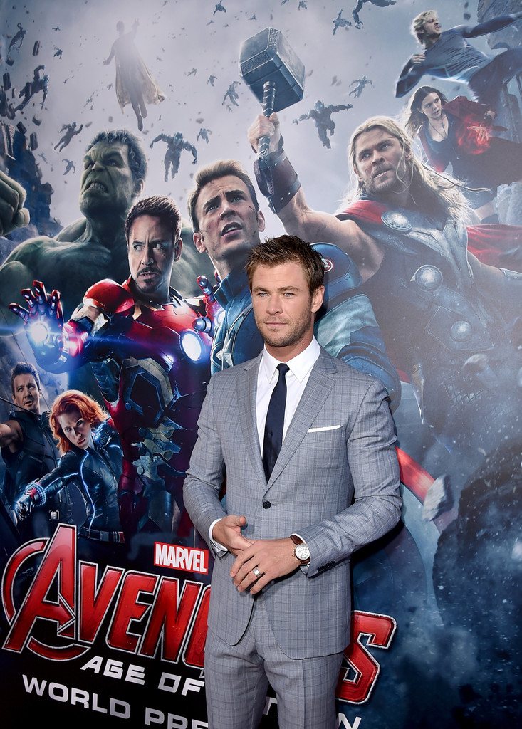 The Avengers: Age of Ultron - Chris Hemsworth presenta il film