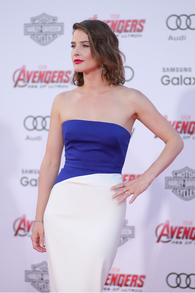 The Avengers: Age of Ultron - Cobie Smulders alla premiere
