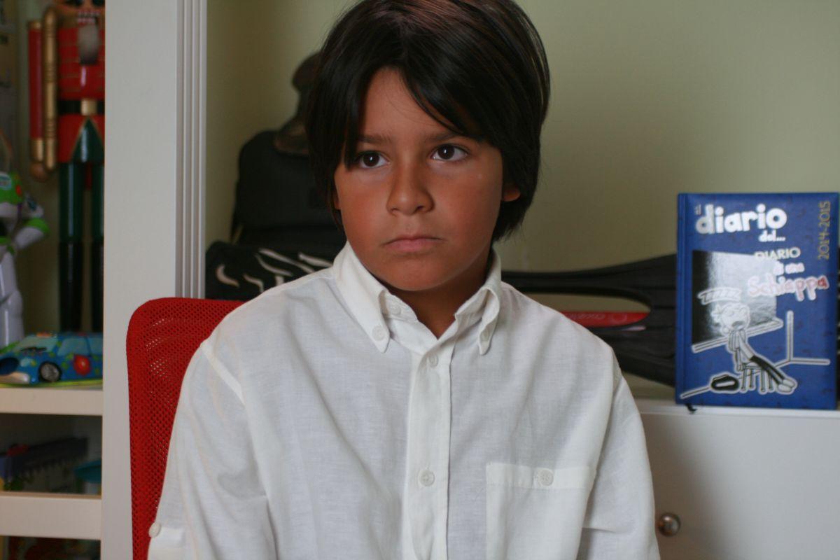 I bambini sanno: il bambino Lorenzo Farina in una scena del documentario