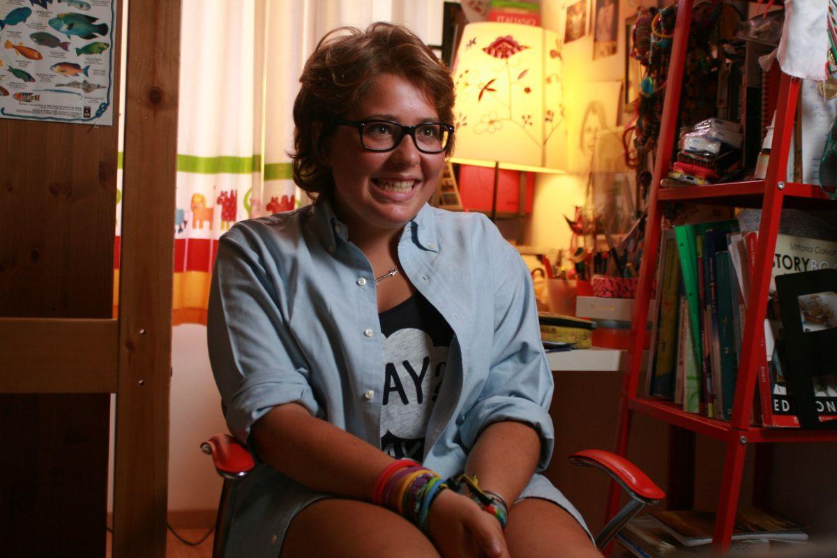 I bambini sanno: Benedetta Fiore in una scena del documentario
