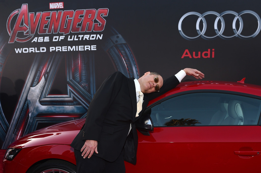 The Avengers: Age of Ultron - James Spader alla premiere