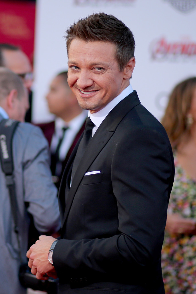 The Avengers: Age of Ultron - Jeremy Renner alla premiere