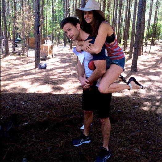 The Vampire Diaries: Nina Dobrev e Matt Davis nell'ultimo giorno di riprese insieme