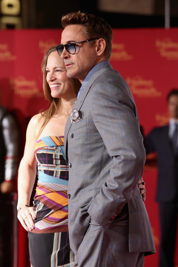 The Avengers: Age of Ultron - Robert e Susan Downey alla  premiere