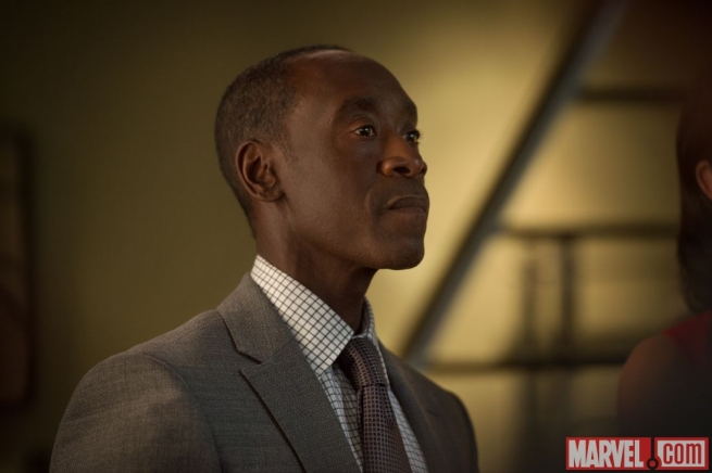 Avengers: Age of Ultron - Uno scatto con protagonista Don Cheadle