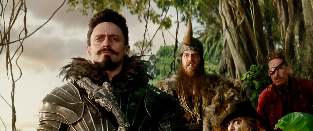 Pan: Hugh Jackman è Barbanera in una scena del film fantastico