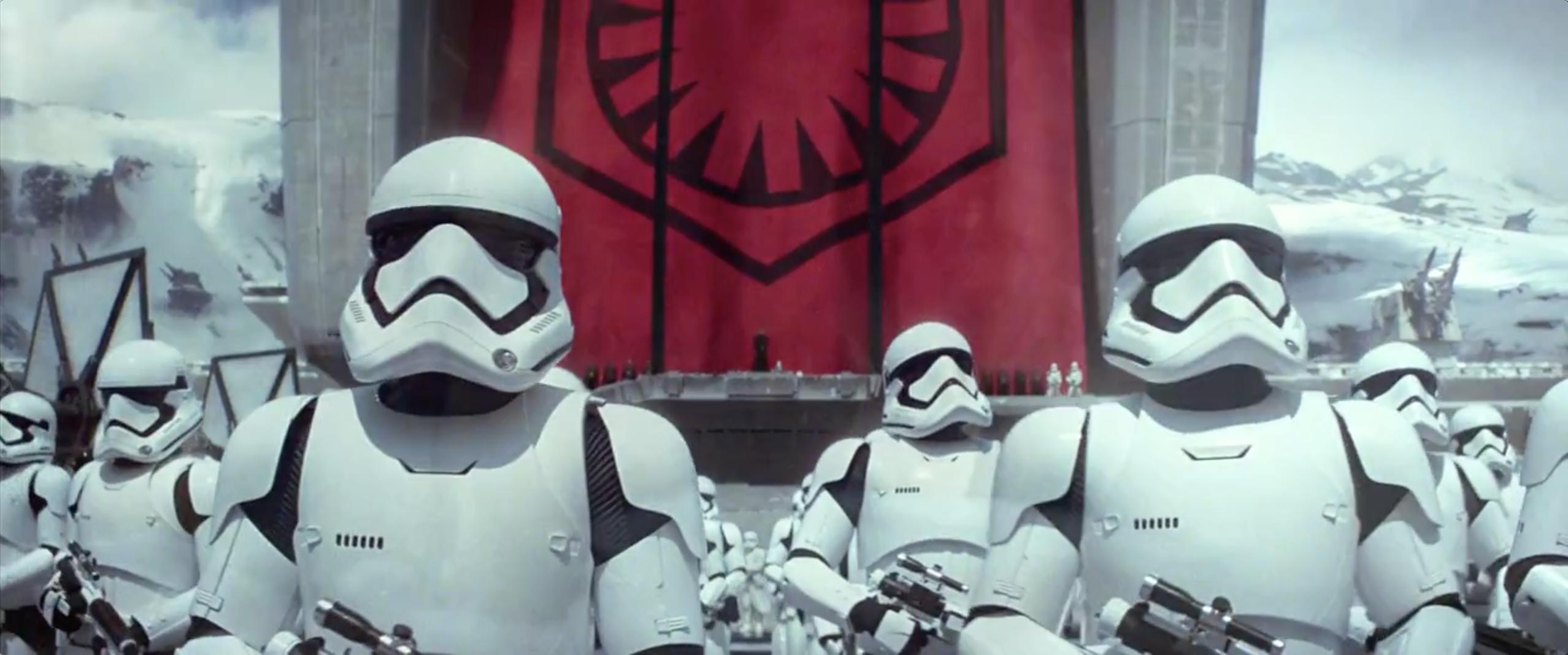Star Wars: Episodio VII - Il risveglio della Forza: Stormtrooper nel secondo teaser