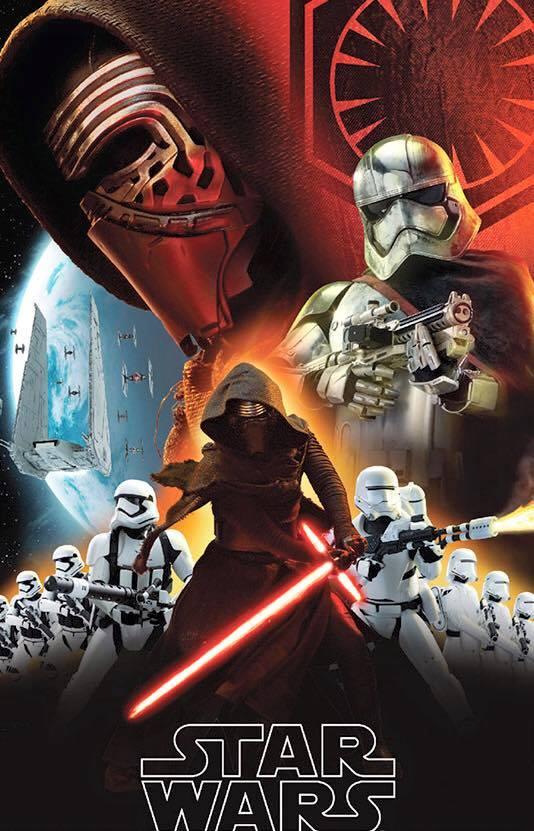 Star Wars: Episodio VII - Il Risveglio della Forza: un'immagine promozionale del film