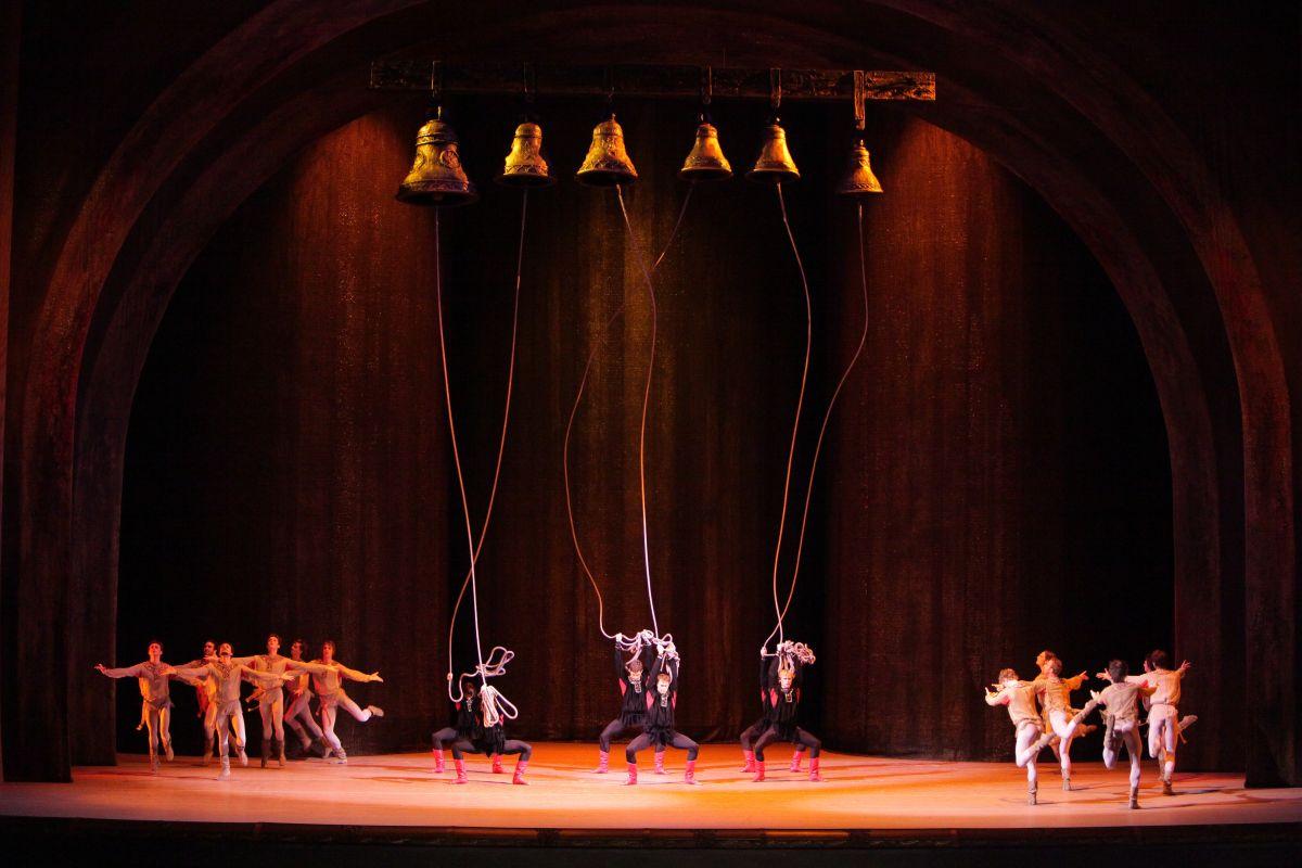 Il Balletto del Bolshoi - Ivan il terribile: una spettacolare immagine tratta dalllo spettacolo