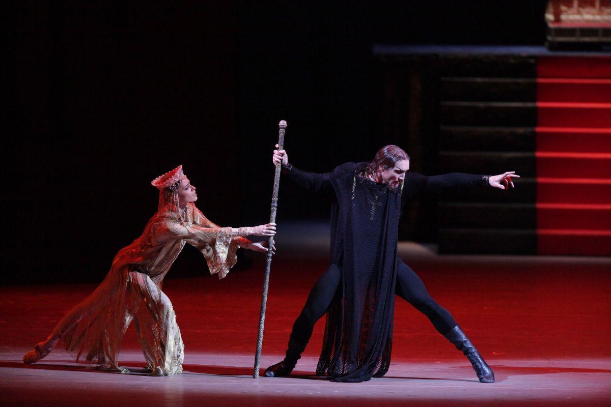 Il Balletto del Bolshoi - Ivan il terribile: una drammatica scena dello spettacolo