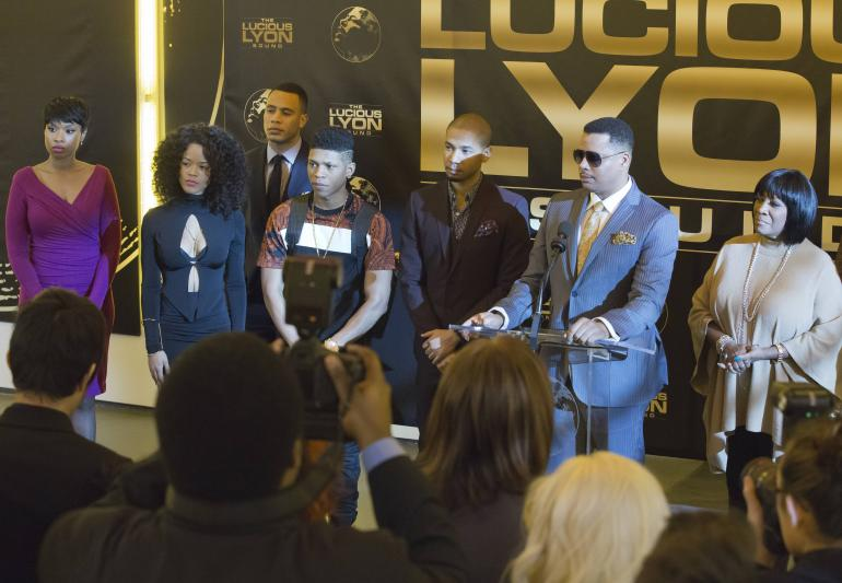Empire: l'attore Terrence Howard in una scena di Die But Once/Who I Am