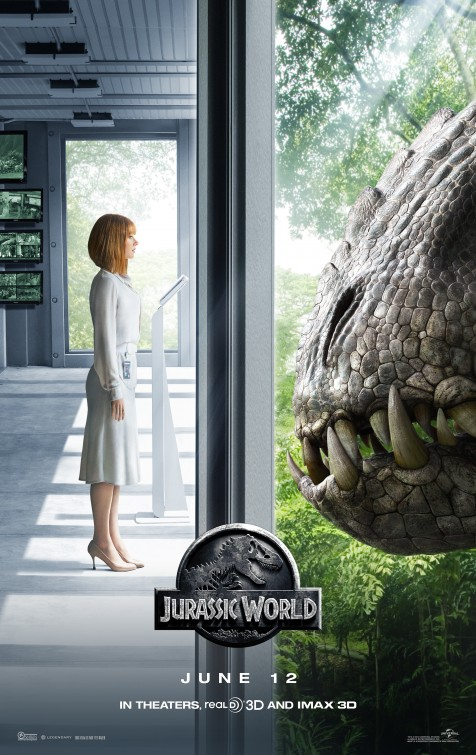 Jurassic World: la locandina con Bryce Dallas Howard