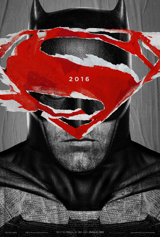 Batman v Superman: Dawn of Justice - Henry Cavill nel teaser poster