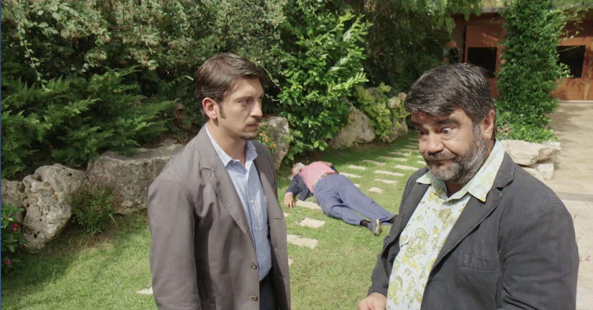 Le Frise Ignoranti: William Volpicella con Francesco Pannofino in una scena del film