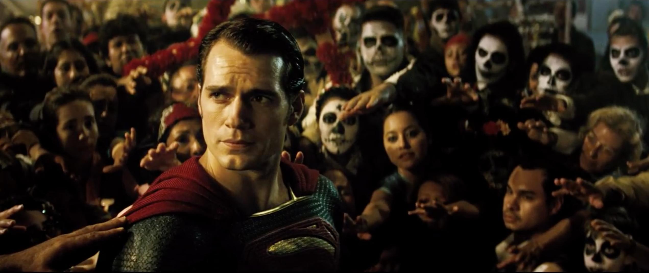 Batman v Superman: Dawn of Justice: Henry Cavill in un'immagine tratta dal trailer del film