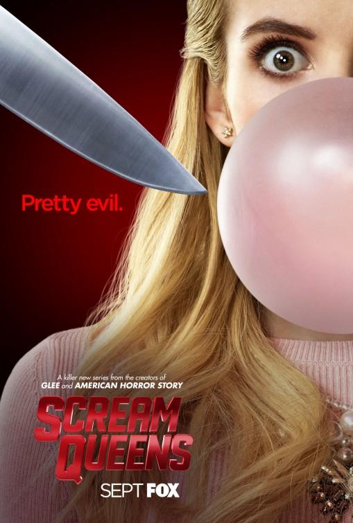 Scream Queens: una locandina per la serie