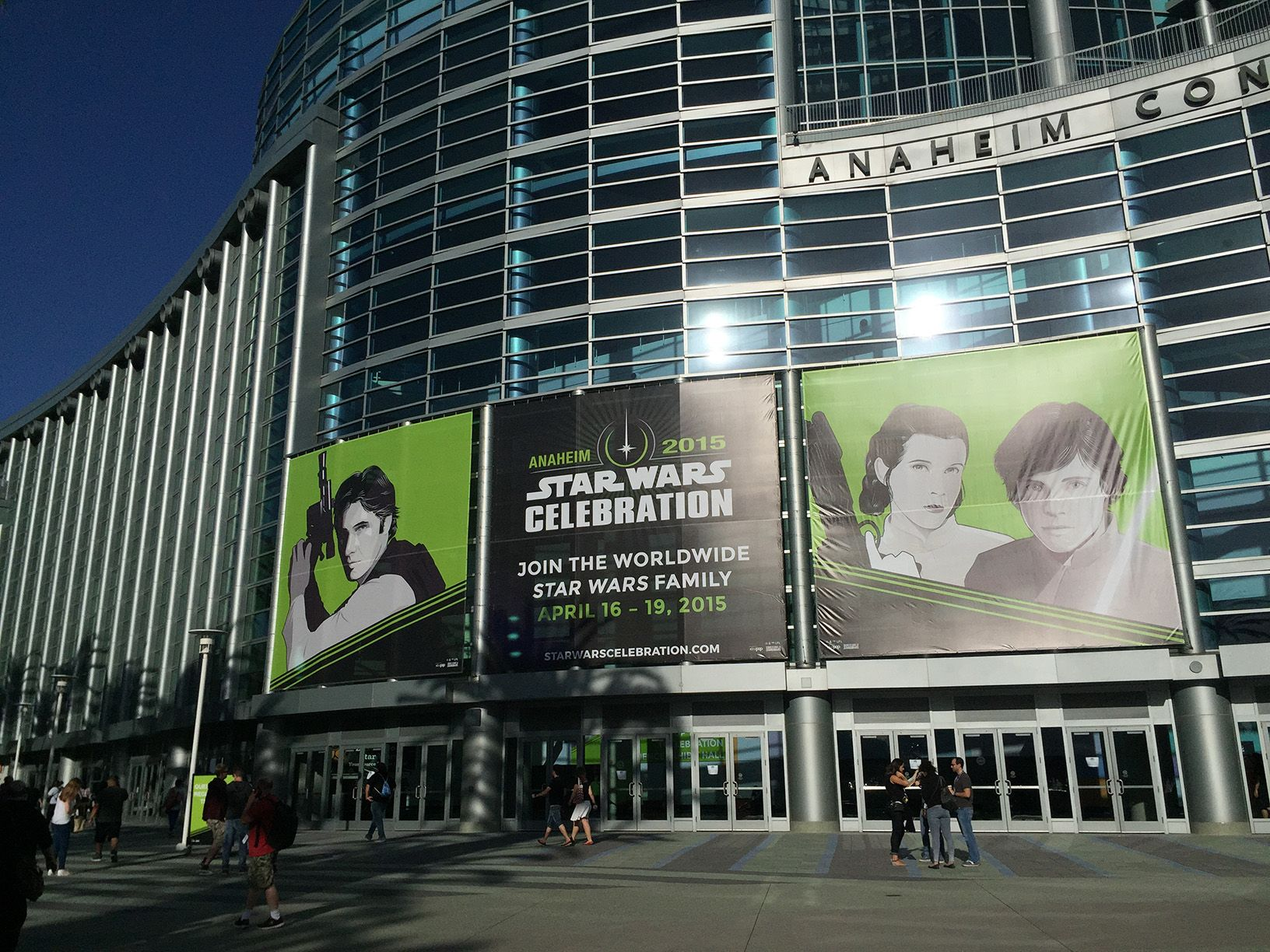 Star Wars Celebration ad Anaheim