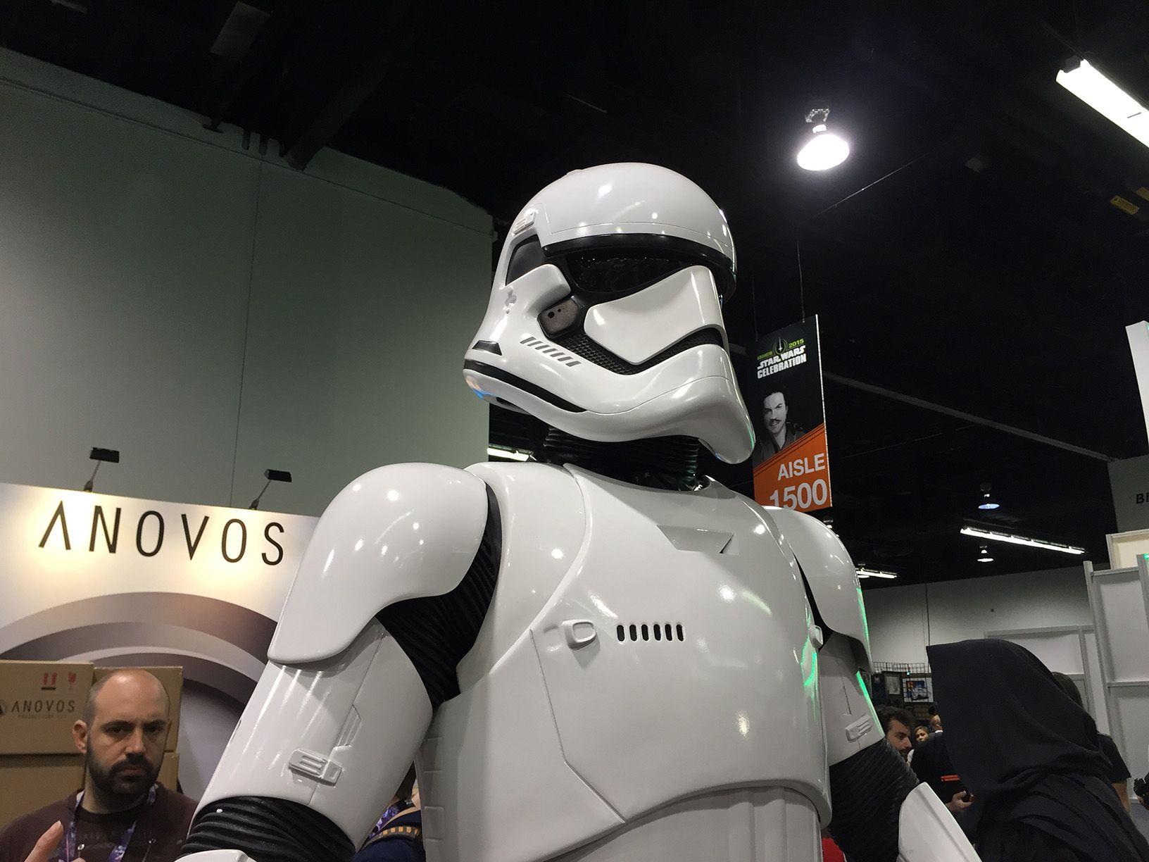 Star Wars Celebration: un aitante stormtrooper