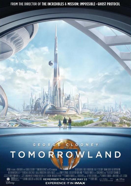 Tomorrowland - Il mondo di domani: la locandina IMAX