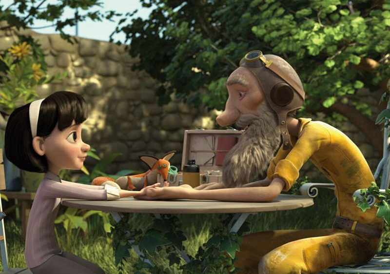 Il piccolo principe: una nuova immagine del lungometraggio animato