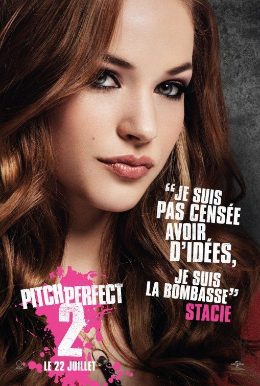 Pitch Perfect 2: il character poster francese di Alexis Knapp