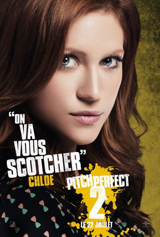 Pitch Perfect 2: il character poster francese di Brittany Snow