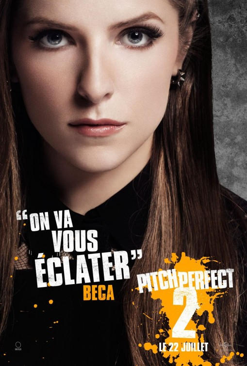Pitch Perfect 2: il character poster francese di Anna Kendrick