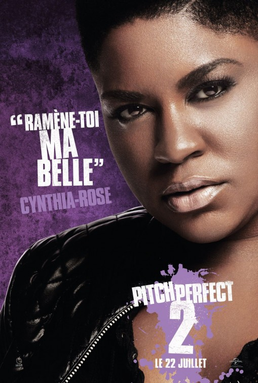 Pitch Perfect 2: il character poster francese di Ester Dean