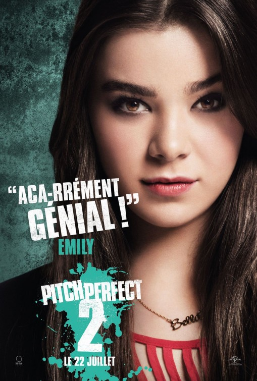 Pitch Perfect 2: il character poster francese di Hailee Steinfeld