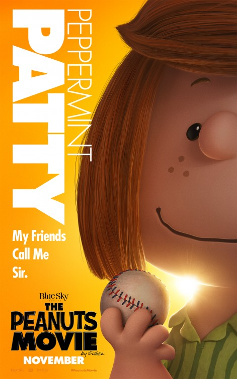 Snoopy & Friends - Il film dei Peanuts - Il character poster di Patty