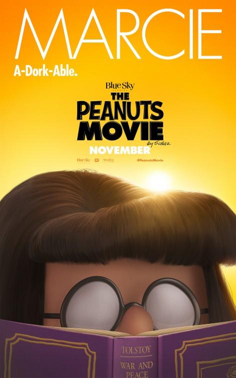 Snoopy & Friends - Il film dei Peanuts - Il character poster di Marcie