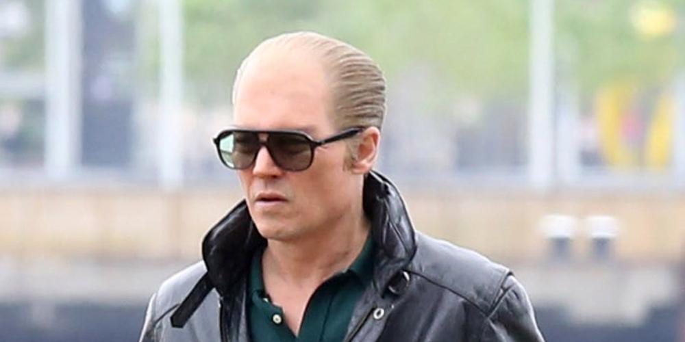 Black Mass: Johnny Depp calvo sul set
