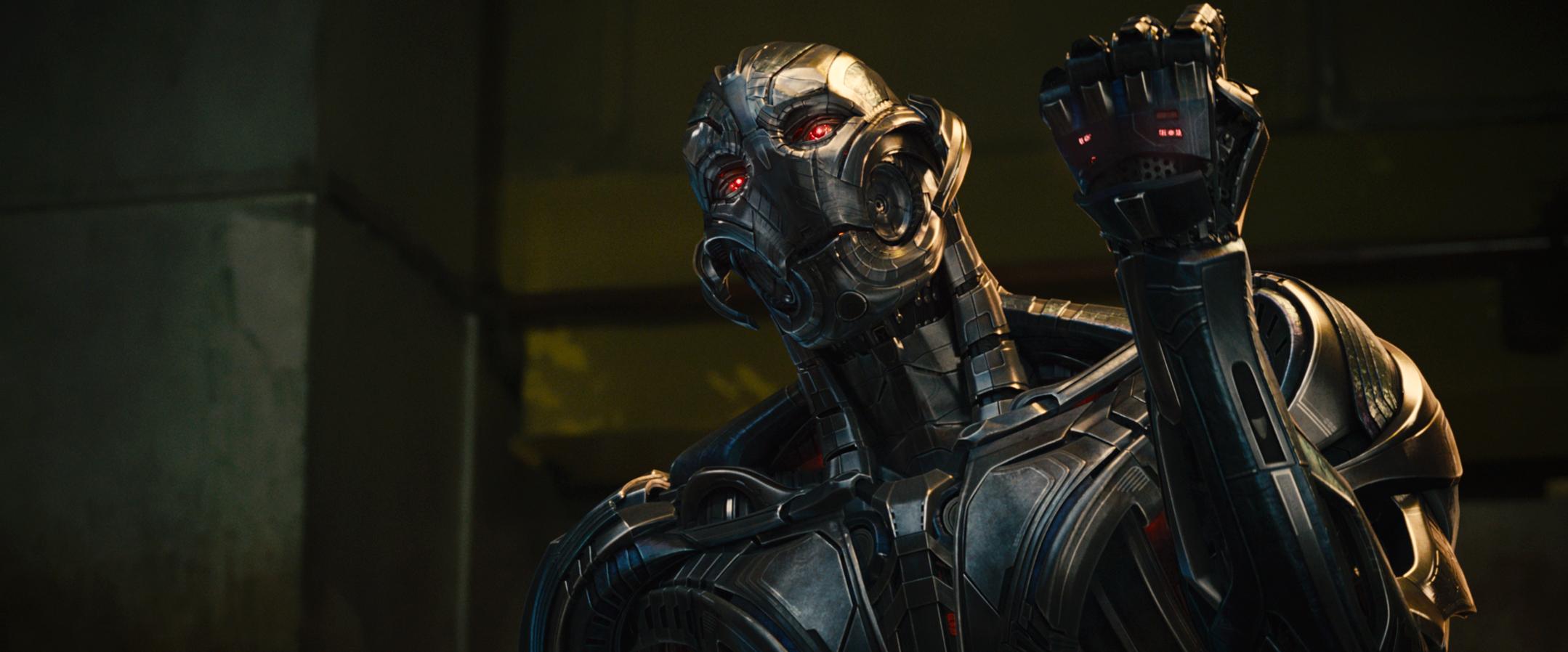 Avengers 2: il temibile Ultron in azione