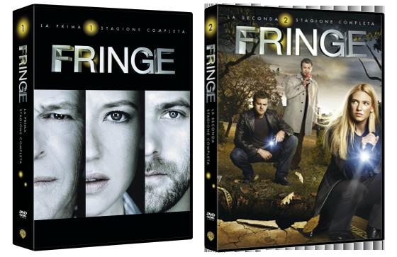Le cover homevideo di Fringe
