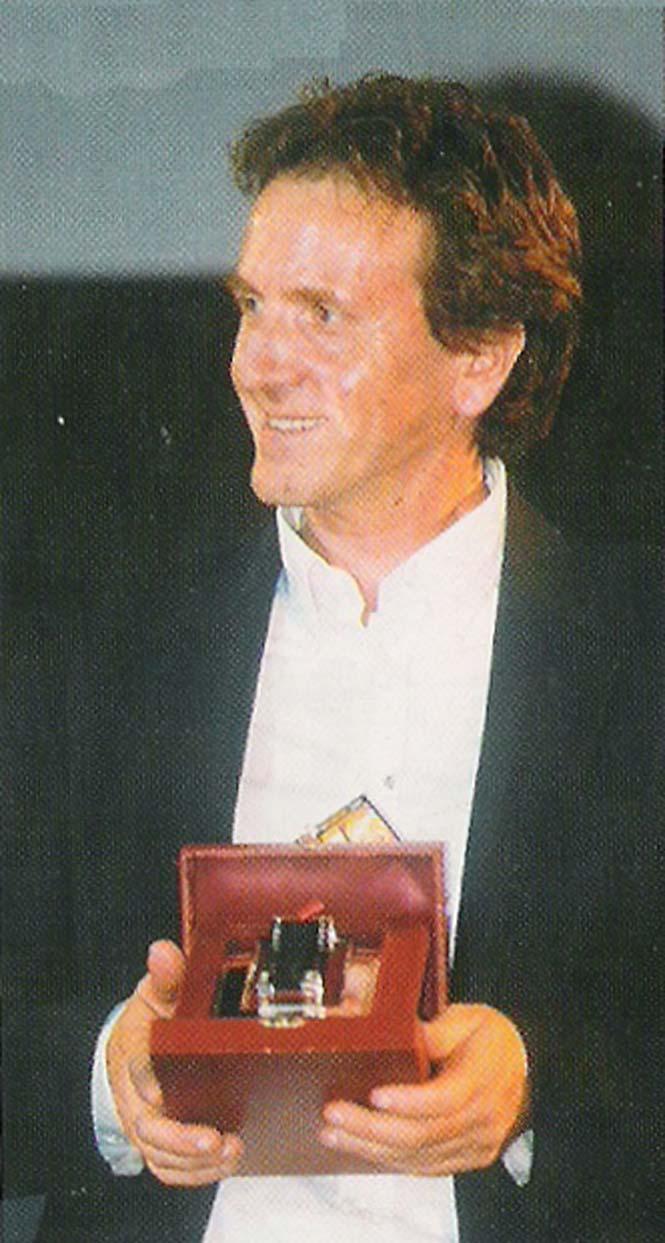 Luigi Marchione premiato ai Nastri d'Argento per Il mestiere delle armi (2001)