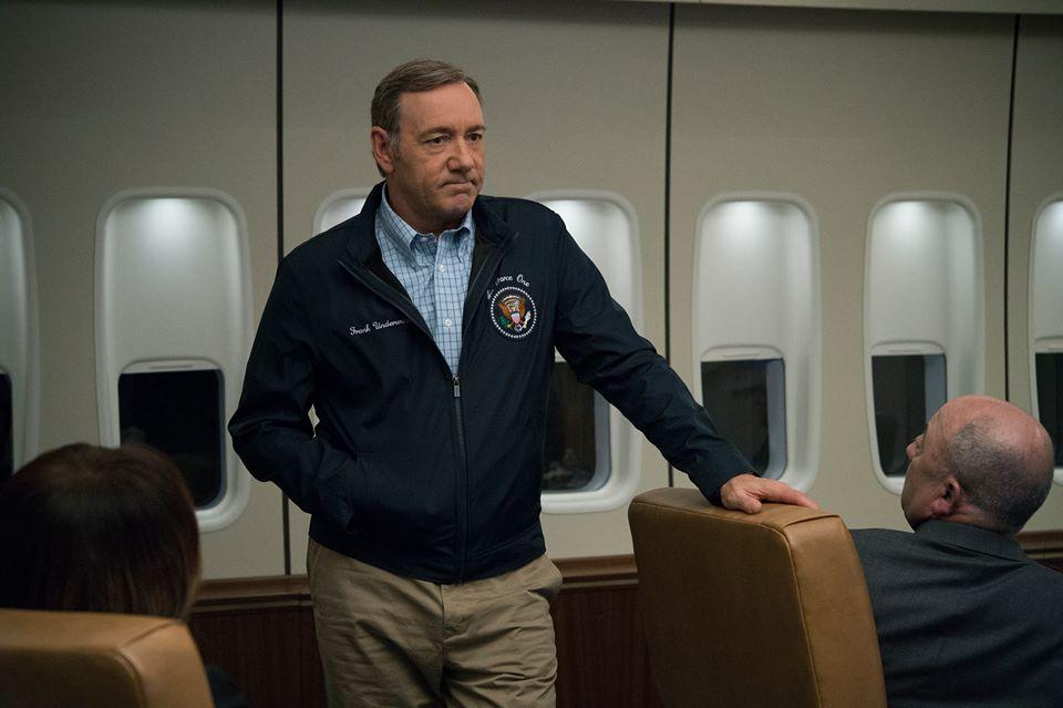 House of Cards: Kevin Spacey interpreta Frank Underwood nella terza stagione della serie