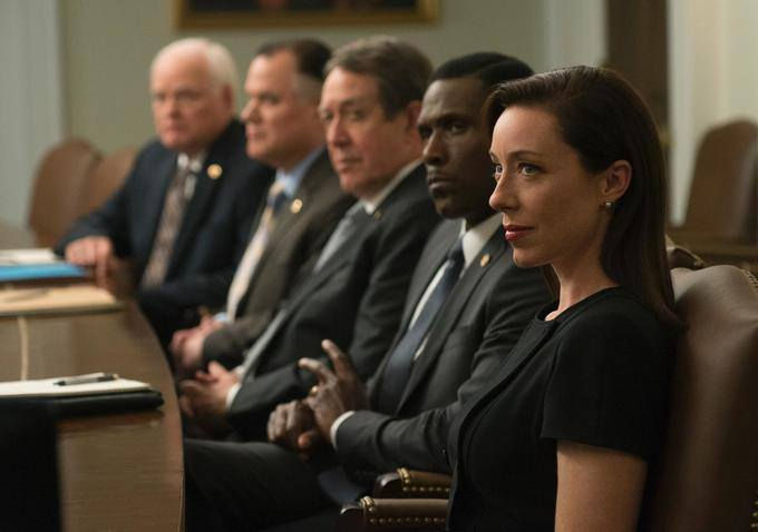 House of Cards: l'attrice Elizabeth Marvel in una scena di Capitolo 27