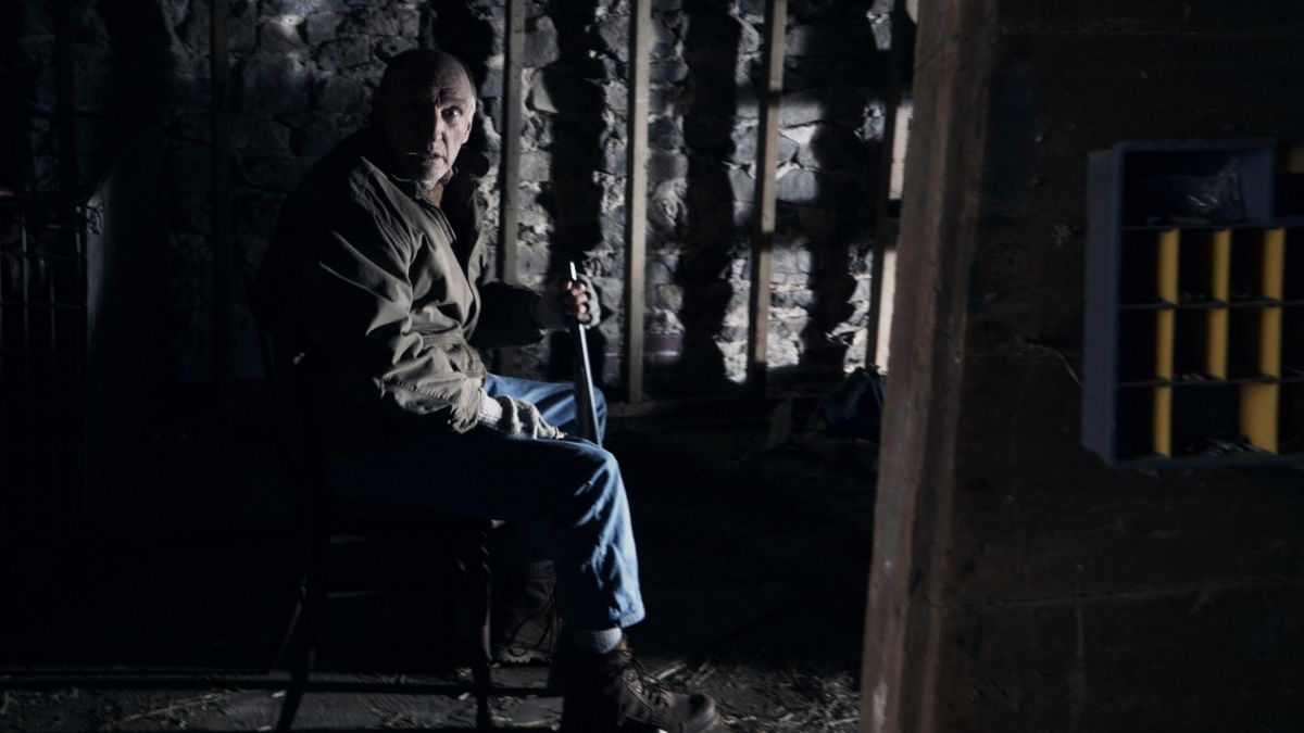 The Visit: Peter McRobbie nei panni del nonno in una scena della commedia horror