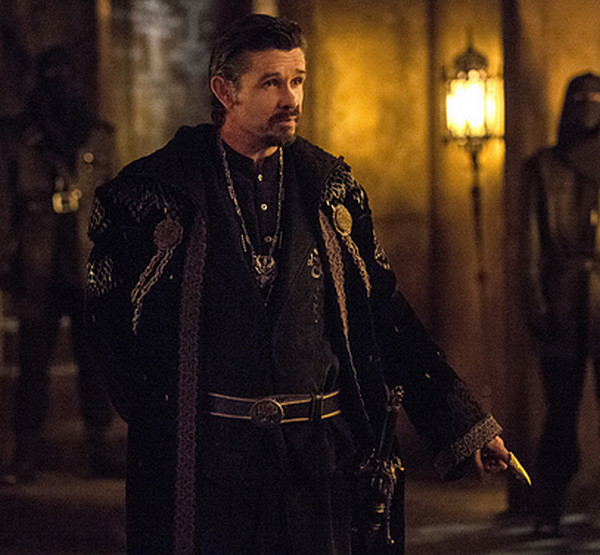 Arrow: Matt Nable interpreta Ra's al Ghul in The Fallen