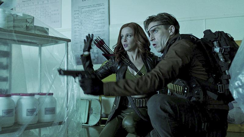 Arrow: Amy Gumenick e Michael Rowe nella puntata Suicidal Tendencies
