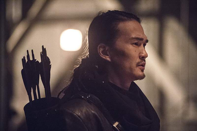 Arrow: l'attore Karl Yune interpreta Maseo nella puntata Suicidal Tendencies