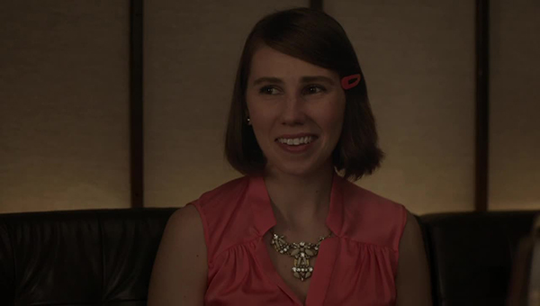 Girls: Zosia Mamet in un'immagine di Tad & Loreen & Avi & Shanaz