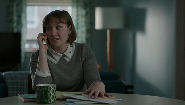 Girls: la protagonista Lena Dunham nella puntata intitolata Daddy Issues