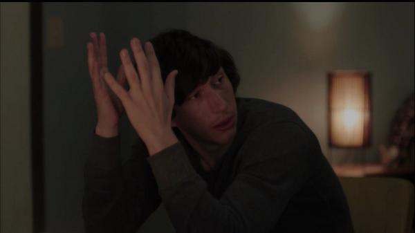 Girls: Adam Driver in una scena di Home Birth